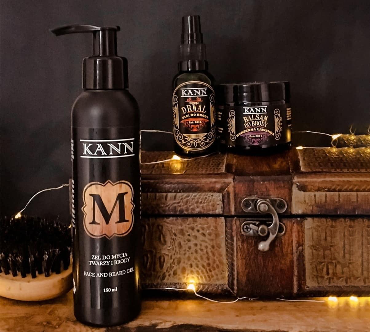 Zestaw kosmetyków do pielęgnacji brody beardman